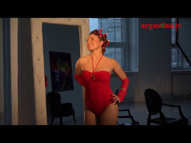 Avgustina When you come in Official Music Video in Red of Avgustina Gold Collection