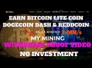 Withdraw Proof 1 MH s Powerful Cloud Mining For Bitcoin Dogecoin Litecoin Dash Reddcoin No Invest