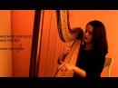 Machine Gun Kelly Kiss the sky Bloom Cover by harpist Nastasia reVolt Арфа