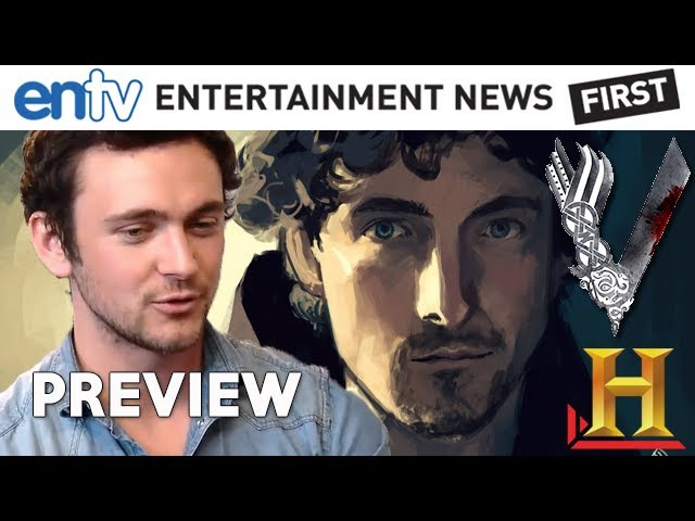 VIKINGS (2013) : History Channel Preview with George Blagden Plus
