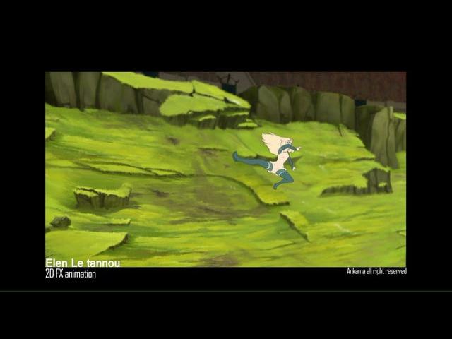 Elen Le tannou's 2D FX_demo on Dofus the movie