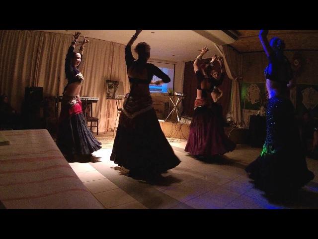 Iris Tribe - The Flight if Morrigan (ATS® bellydance) - Art Jam
