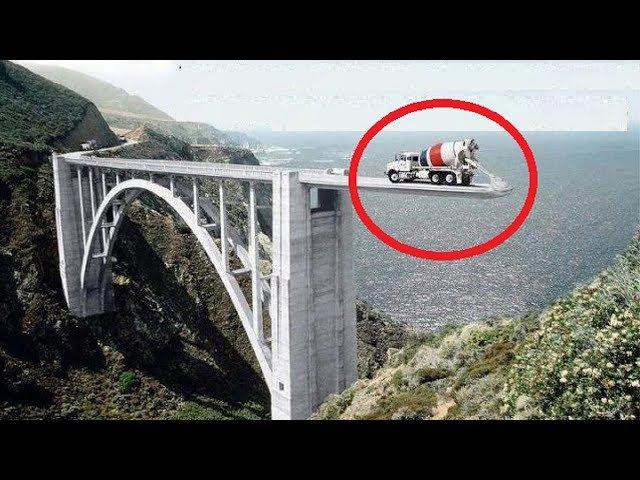 Heavy Duty Large Construct Building Bridge Machines, Fastest Extreme Modern Technology Construction