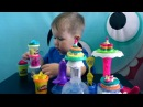 PLAY DOH Пластилин ПЛЕЙ ДО Лепим тортики Видео для детей