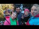 Зимний поход в Абхазии Автостопом до Гегского водопада Часть первая