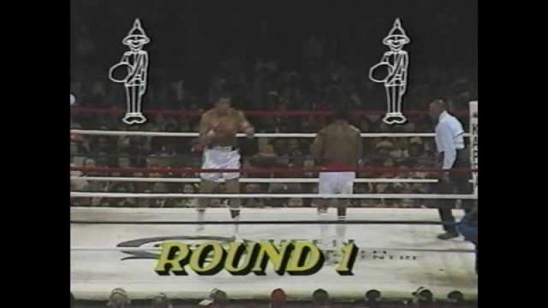1981 Мухаммед Али - Тревор Бербик. Последний бой в карьере Али