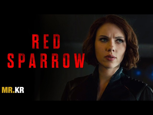 Black Widow Trailer - (Red Sparrow Style)