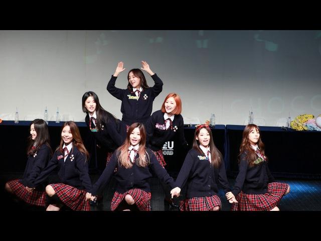 [4k]171116 신촌구구단팬사인회 Chococo 직캠