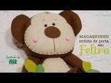Macaco Enfeite de Porta em Feltro (Fabiana Hammerle)