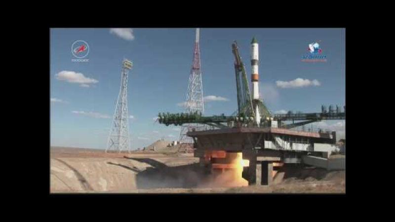 Пуск РКН «Союз 2 1а» с ТГК «Прогресс МС 07»