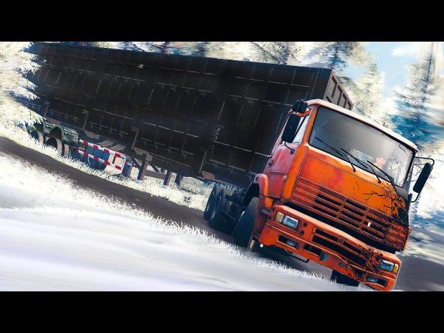ФИЗИКА SpinTires в Euro Truck Simulator 2