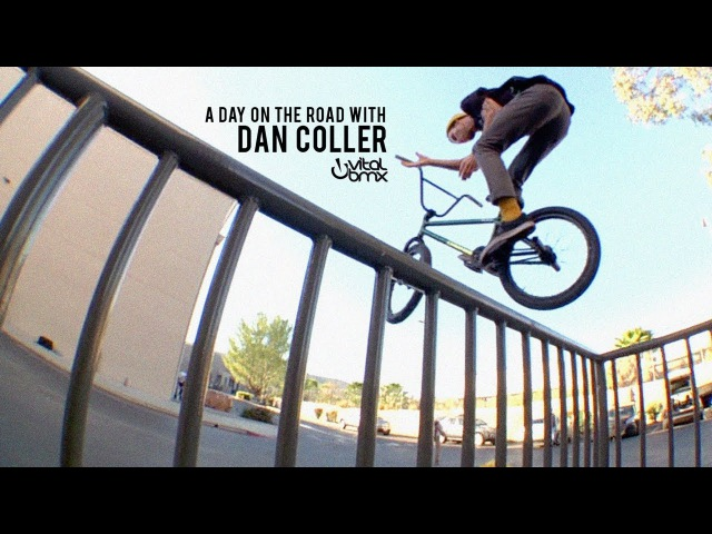 A Day on the Road with Dan Coller insidebmx