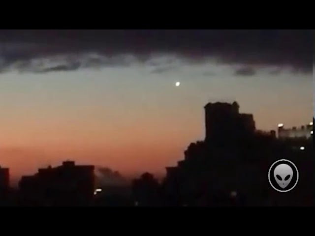 UFO over Moscow. November 3, 2017
