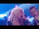 The Voice 2016 Christina Aguilera, Adam Levine, Pharrell Williams and Blake Shelton I Wish