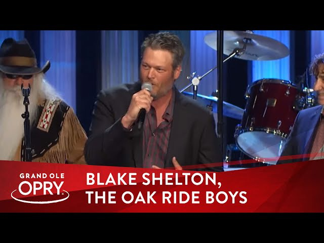 Blake Shelton The Oak Ridge Boys - Doin' It To Country Songs Elvira | Opry
