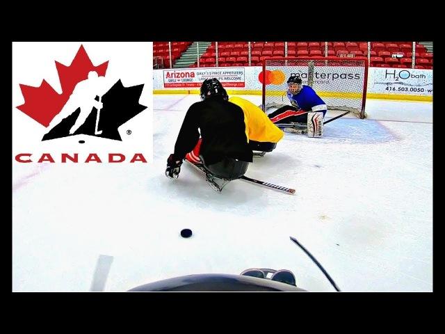 I PLAYED SLEDGE HOCKEY WITH TEAM CANADA!