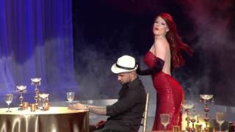 Your face sounds familiar Albania 2 - Olta Gixhari si Jessica Rabbit