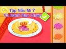Game Trẻ Em Game Làm Mì Ý Và Bánh Bao Chiên AHIHI