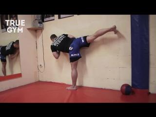 Как научиться делать вертушку - 5 лучших упражнений для удара ногой с разворота / ufcall