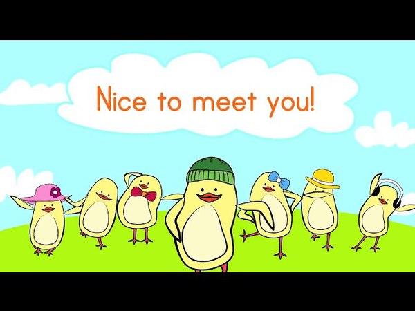 Hello Song for Kids \ Привет песня на английском