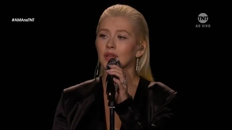 Christina Aguilera x Whitney Houston | AMA 2017