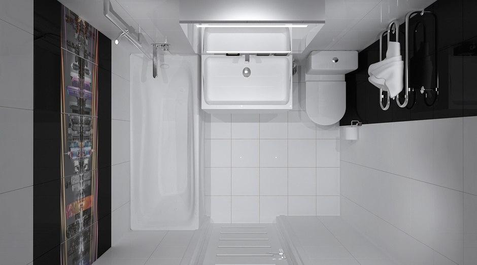 Проект квартиры-студии 26 м от застройщика ГК Новый дом, Киров.