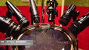 Drum Microphone Test (Audix D2 D4 D6 I5 ADX51 Shure SM57) 8X7 DW Collector's Maple/Mahogany Tom