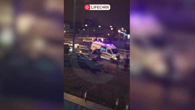 Два человека пострадали в результате ДТП на ул. Ивана Франко в Москве
