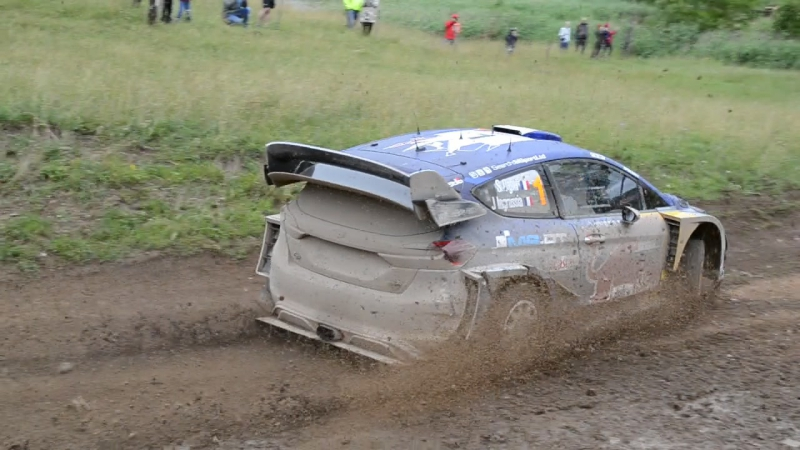 WRC 2017 rajd polski Orzysz - 2