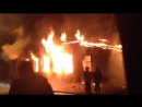 Пожар на Воскресенском переулке. 03.12.2017