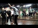 Электр-ночь в студии LBE 18-11-17 часть 7. Дружеский батл вторая половина Андрей vs Катя