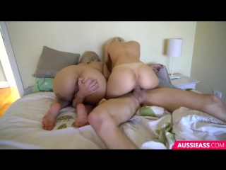 Секс с двумя шикарными блондинками
