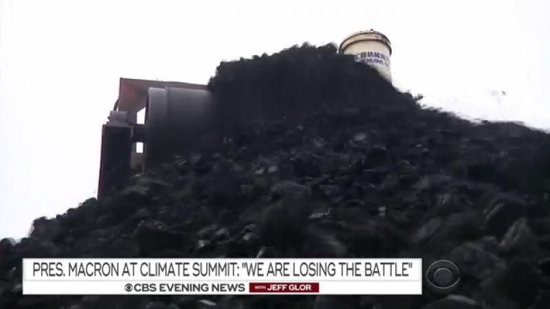 Macron au sommet sur le climat: Nous perdons la bataille