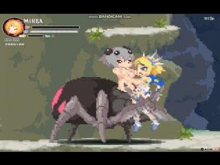 Echidna Wars DX - Spidergirl Vore