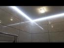 Парящий потолок в ванной Видео нашей работы
