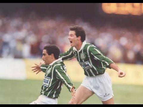 OSMAR SANTOS : Palmeiras x Corinthians Final 1993 TV Manchete, Gol de Zinho momentos finais