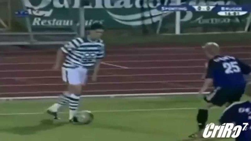 Криштиано Роналдо 2002/2003. Начало карьеры в Спортинге (Португалия)
