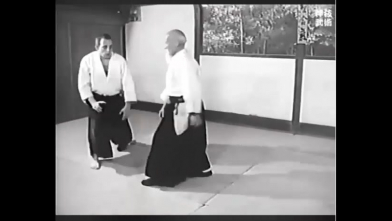 Ueshiba Morihei 78 years old.