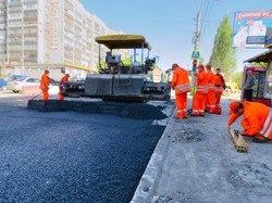 Ремонт проспекта Масленникова в Самаре планируют завершить 22 августа