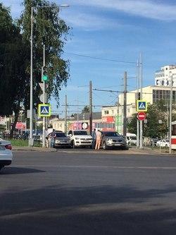 На дублере Ново-Садовой