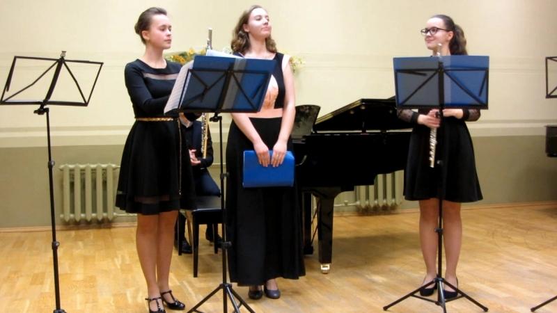 MVI_0476 - Ф. Допплер. Концерт для двух флейт с оркестром ре минор, финал.