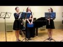 MVI 0476 Ф Допплер Концерт для двух флейт с оркестром ре минор финал