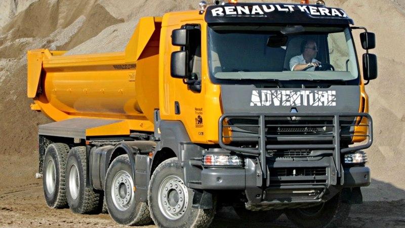 Renault Kerax 84 XTREM Tipper 2011 13