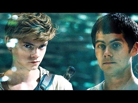 Томас и Ньют целуй