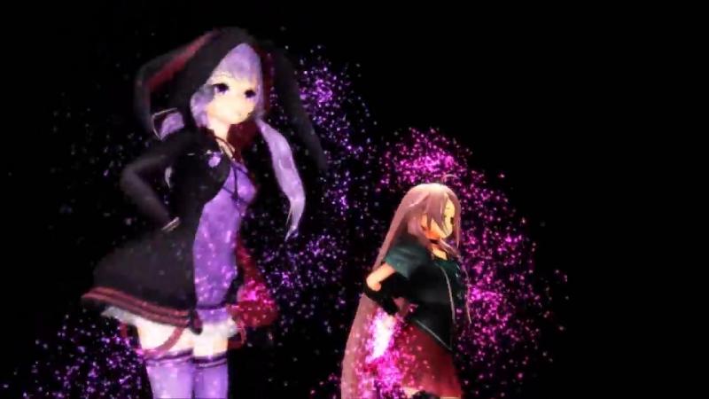 【IA x Yuzuki Yukari】「H A P P Y S Y N T H E S I Z E R」【VOCALOID3カバー X MMD】
