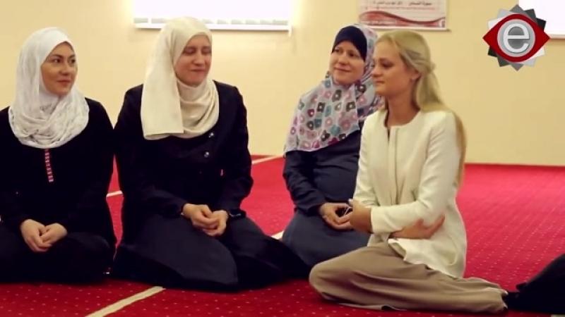 Украинка из Киева принимает Ислам