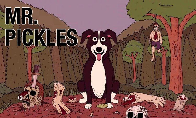 Mr Pickles   hell dog   18