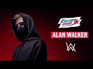 Alan Walker на Европе Плюс!
