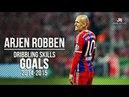 Arjen Robben ● Dribbling Skills Goals ● 2014/2015 HD