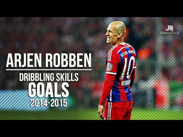 Arjen Robben ● Dribbling Skills Goals ● 20142015 HD